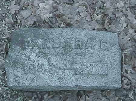 SNAPP, BARBARA ELLEN - Champaign County, Ohio | BARBARA ELLEN SNAPP - Ohio Gravestone Photos