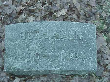 SNAPP, BENJAMIN FRANKLIN - Champaign County, Ohio | BENJAMIN FRANKLIN SNAPP - Ohio Gravestone Photos
