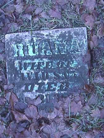 PENCE SNAPP, RUANA - Champaign County, Ohio | RUANA PENCE SNAPP - Ohio Gravestone Photos