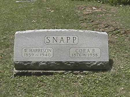 SNAPP, W. HARRISON - Champaign County, Ohio | W. HARRISON SNAPP - Ohio Gravestone Photos