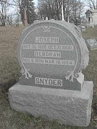 SNYDER, DEBORAH - Champaign County, Ohio | DEBORAH SNYDER - Ohio Gravestone Photos