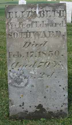 SOTHWARD, ELIZABETH - Champaign County, Ohio | ELIZABETH SOTHWARD - Ohio Gravestone Photos