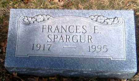 SPARGUR, FRANCES E. - Champaign County, Ohio | FRANCES E. SPARGUR - Ohio Gravestone Photos