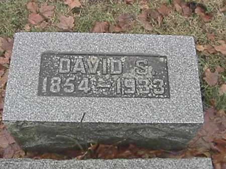 SPEECE, DAVID S. - Champaign County, Ohio | DAVID S. SPEECE - Ohio Gravestone Photos