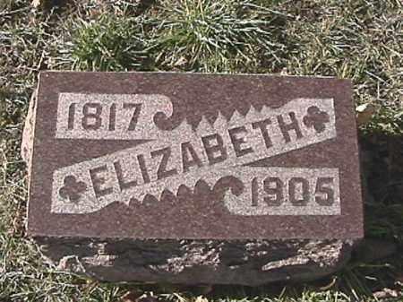 SPEECE, ELIZABETH - Champaign County, Ohio | ELIZABETH SPEECE - Ohio Gravestone Photos