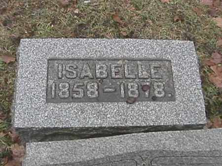 SPEECE, ISABELLE J. - Champaign County, Ohio | ISABELLE J. SPEECE - Ohio Gravestone Photos