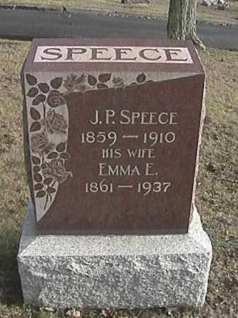 SPEECE, EMMA ELIZABETH - Champaign County, Ohio | EMMA ELIZABETH SPEECE - Ohio Gravestone Photos