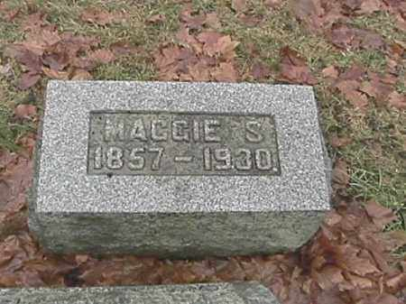 SPEECE, MAGGIE S. - Champaign County, Ohio | MAGGIE S. SPEECE - Ohio Gravestone Photos