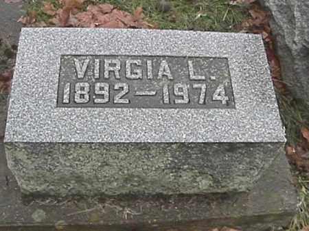 SPEECE, VIRGIA L. - Champaign County, Ohio | VIRGIA L. SPEECE - Ohio Gravestone Photos