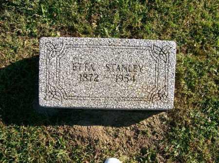STANLEY, ETTA - Champaign County, Ohio | ETTA STANLEY - Ohio Gravestone Photos
