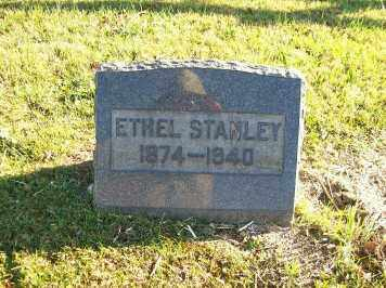 STANLEY, ETHEL - Champaign County, Ohio | ETHEL STANLEY - Ohio Gravestone Photos