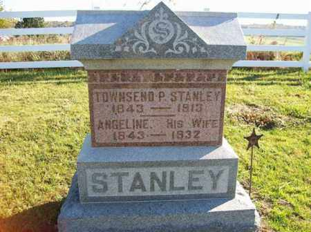 STANLEY, ANGELINE - Champaign County, Ohio | ANGELINE STANLEY - Ohio Gravestone Photos