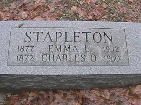 STAPLETON, EMMA L. - Champaign County, Ohio | EMMA L. STAPLETON - Ohio Gravestone Photos