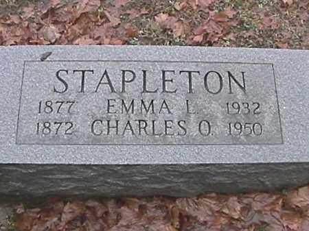 STAPLETON, CHARLES O. - Champaign County, Ohio | CHARLES O. STAPLETON - Ohio Gravestone Photos