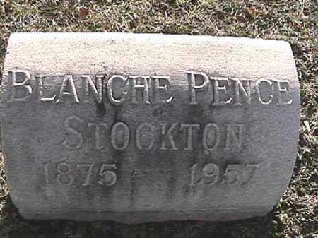 PENCE STOCKTON, BLANCHE - Champaign County, Ohio | BLANCHE PENCE STOCKTON - Ohio Gravestone Photos