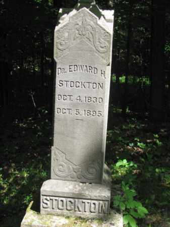 STOCKTON, EDWARD - Champaign County, Ohio | EDWARD STOCKTON - Ohio Gravestone Photos