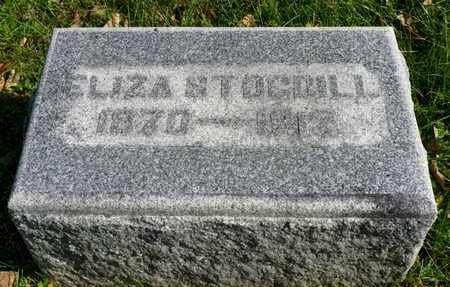 STOGDILL, ELIZA - Champaign County, Ohio | ELIZA STOGDILL - Ohio Gravestone Photos