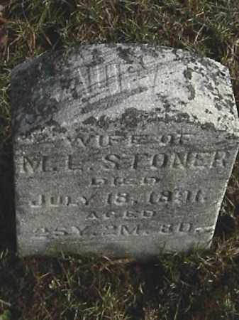 STONER, LAURA C. - Champaign County, Ohio   LAURA C. STONER - Ohio Gravestone Photos