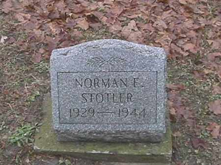 STOTLER, NORMAN E. - Champaign County, Ohio | NORMAN E. STOTLER - Ohio Gravestone Photos