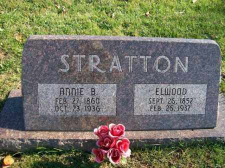 STRATTON, ANNIE B. - Champaign County, Ohio | ANNIE B. STRATTON - Ohio Gravestone Photos