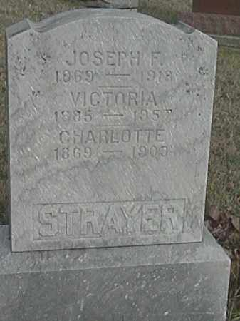 STRAYER, CHARLOTTE - Champaign County, Ohio | CHARLOTTE STRAYER - Ohio Gravestone Photos