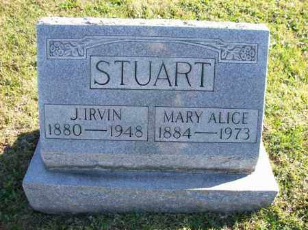 STUART, MARY ALICE - Champaign County, Ohio | MARY ALICE STUART - Ohio Gravestone Photos