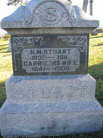 STUART, CARRIE - Champaign County, Ohio | CARRIE STUART - Ohio Gravestone Photos