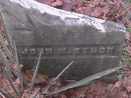 STUCK, JOHN M. - Champaign County, Ohio | JOHN M. STUCK - Ohio Gravestone Photos