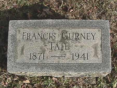 TATE, FRANCIS GURNEY - Champaign County, Ohio | FRANCIS GURNEY TATE - Ohio Gravestone Photos