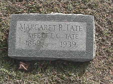 TATE, MARGARET REBECCA - Champaign County, Ohio | MARGARET REBECCA TATE - Ohio Gravestone Photos
