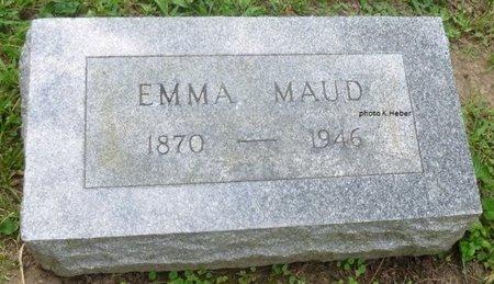 ABBOTT TAYLOR, EMMA MAUD - Champaign County, Ohio | EMMA MAUD ABBOTT TAYLOR - Ohio Gravestone Photos