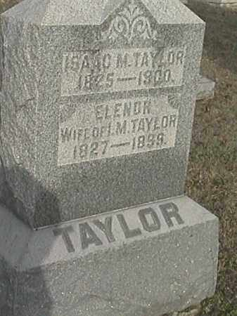 TAYLOR, ELENOR - Champaign County, Ohio | ELENOR TAYLOR - Ohio Gravestone Photos