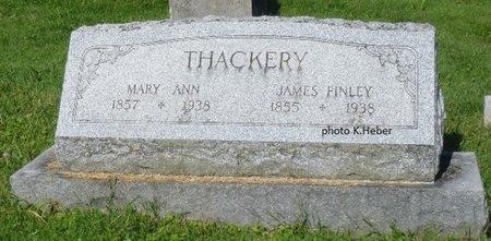 BASINGER THACKERY, MARY ANN - Champaign County, Ohio | MARY ANN BASINGER THACKERY - Ohio Gravestone Photos