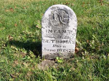 THOMAS, INFANT - Champaign County, Ohio | INFANT THOMAS - Ohio Gravestone Photos
