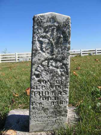 THOMAS, INFANT SON - Champaign County, Ohio | INFANT SON THOMAS - Ohio Gravestone Photos