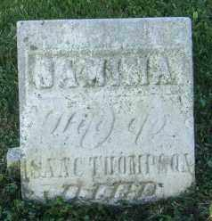 THOMPSON, JAMINA - Champaign County, Ohio | JAMINA THOMPSON - Ohio Gravestone Photos