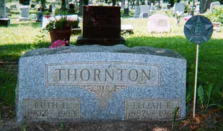 THORNTON, RUTH E. DUNHAM - Champaign County, Ohio | RUTH E. DUNHAM THORNTON - Ohio Gravestone Photos