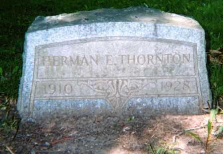 THORNTON, HERMAN E. - Champaign County, Ohio | HERMAN E. THORNTON - Ohio Gravestone Photos