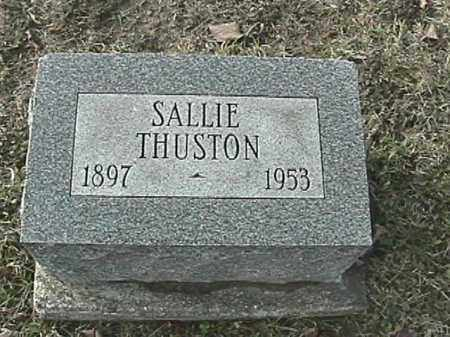 THUSTON, SALLIE - Champaign County, Ohio | SALLIE THUSTON - Ohio Gravestone Photos