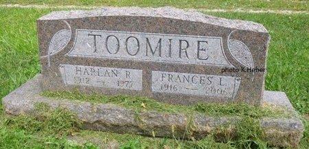ANDERSON TOOMIRE, FRANCES LOUETTA - Champaign County, Ohio | FRANCES LOUETTA ANDERSON TOOMIRE - Ohio Gravestone Photos