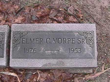 VORPE, ELMER C. - Champaign County, Ohio | ELMER C. VORPE - Ohio Gravestone Photos