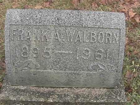 WALBORN, FRANK A. - Champaign County, Ohio | FRANK A. WALBORN - Ohio Gravestone Photos
