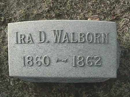 WALBORN, IRA DOUGLAS - Champaign County, Ohio | IRA DOUGLAS WALBORN - Ohio Gravestone Photos
