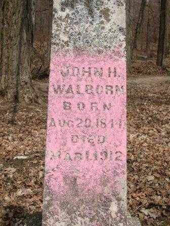 WALBORN, JOHN H. - Champaign County, Ohio | JOHN H. WALBORN - Ohio Gravestone Photos