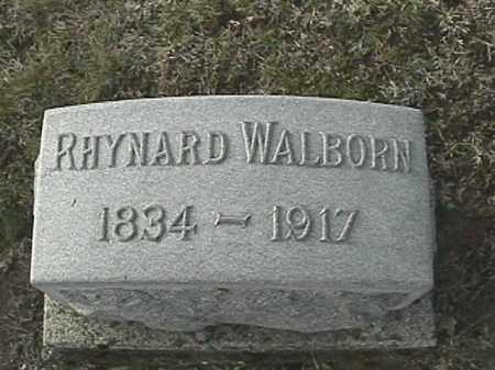 WALBORN, RHYNARD - Champaign County, Ohio | RHYNARD WALBORN - Ohio Gravestone Photos