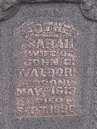 HETZEL WALBORN, SARAH - Champaign County, Ohio | SARAH HETZEL WALBORN - Ohio Gravestone Photos