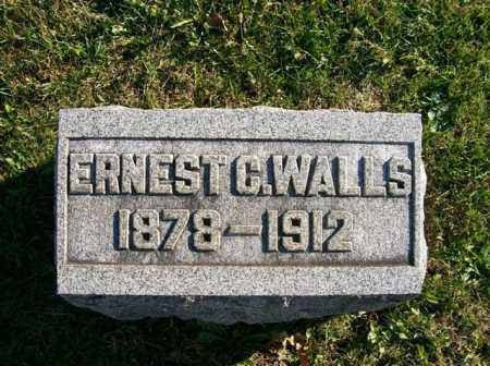 WALLS, ERNEST C - Champaign County, Ohio | ERNEST C WALLS - Ohio Gravestone Photos