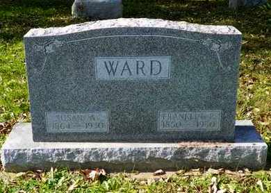 WARD, FRANKLIN P. - Champaign County, Ohio | FRANKLIN P. WARD - Ohio Gravestone Photos