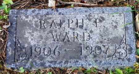 WARD, RALPH F. - Champaign County, Ohio | RALPH F. WARD - Ohio Gravestone Photos
