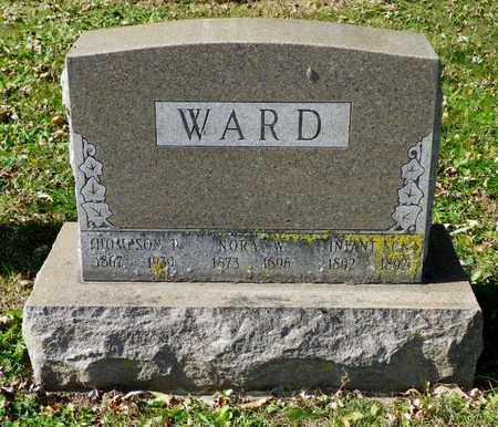 WARD, NORA W. - Champaign County, Ohio | NORA W. WARD - Ohio Gravestone Photos